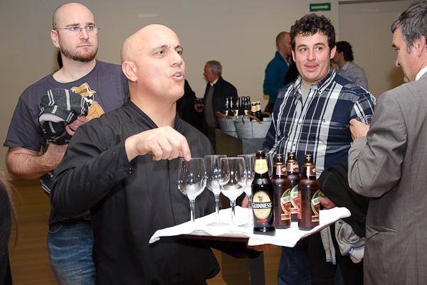 Cóctel Bord Bia en el Baluarte de Pamplona