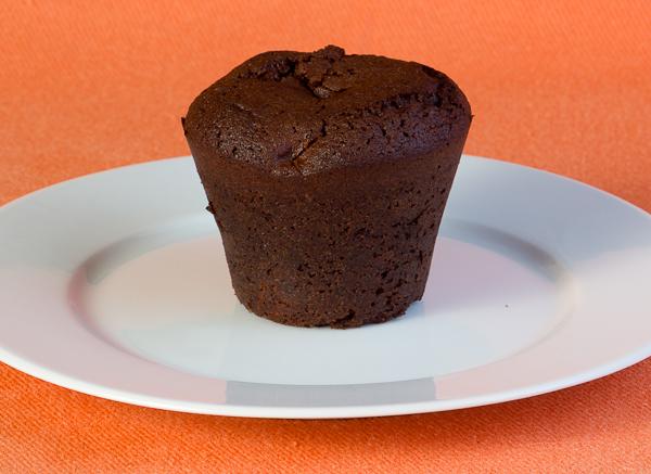 Muffin de chocolate casero