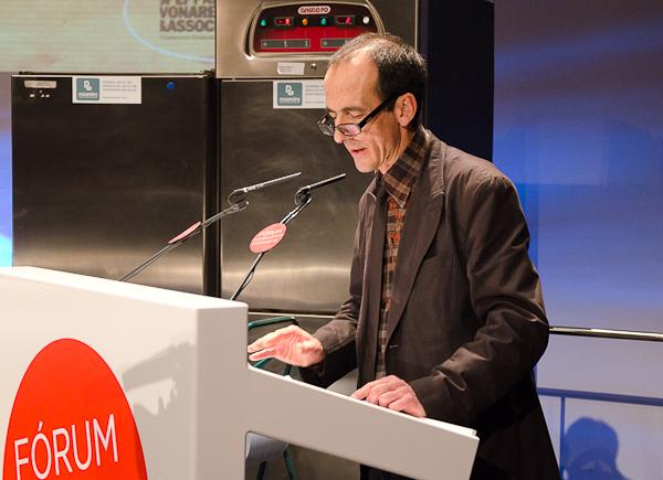 Pep Palau en el Fórum Santiago 2012