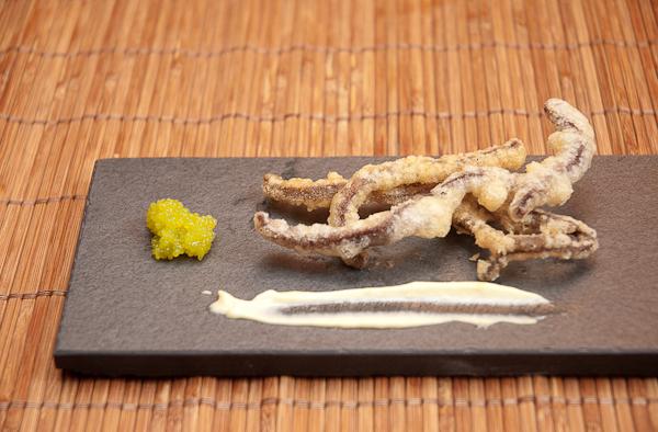 Tapa de Algas en Tempura