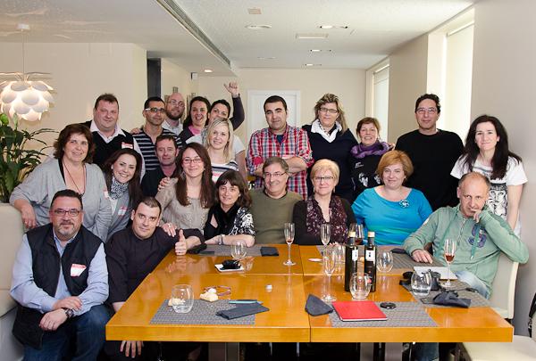 Foto de familia en 20 à la Rambla (Tarragona)