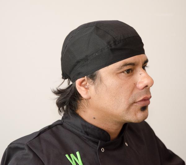 Walter Brandan del Restaurante Wakathai