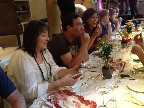 Tapas & Blogs en la Trattoría Sant Arcangelo