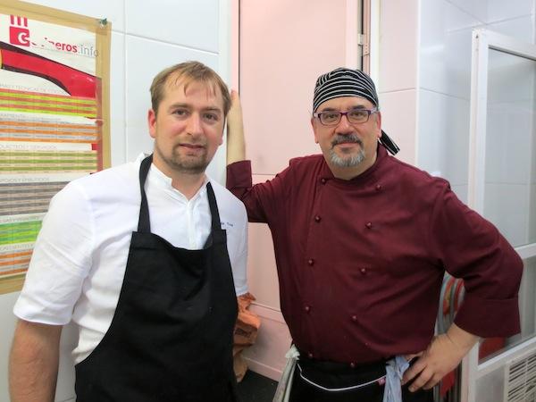 Claudio Vidal y Rafa Prades en Casa Claudio