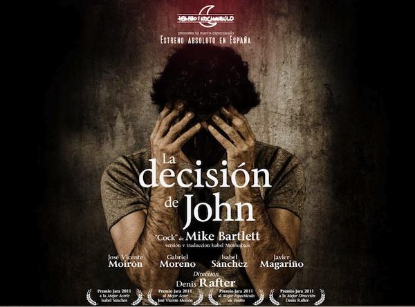 Cartel de La Decisión de John