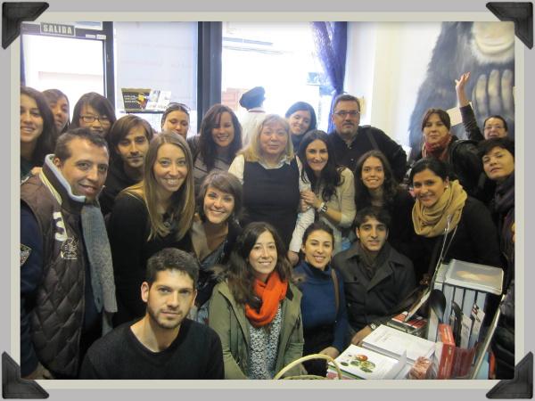 Foto de familia en A Punto-Centro cultural del gusto