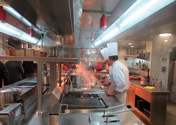 Cocina del Restaurante Ruta del Veleta - Gastrotur 2013