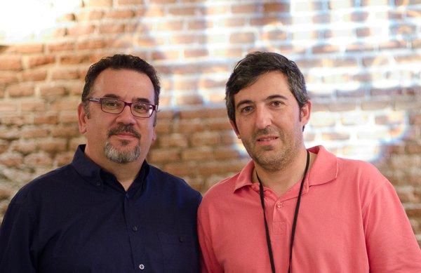 Rafa Prades y Carmelo Prieto