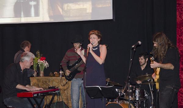 La banda Black Bones con Celia Carballo en Havana 7