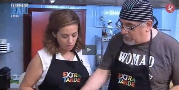 Foto | Con Fátima Ramírez en el programa Extra Tarde de Canal Extremadura
